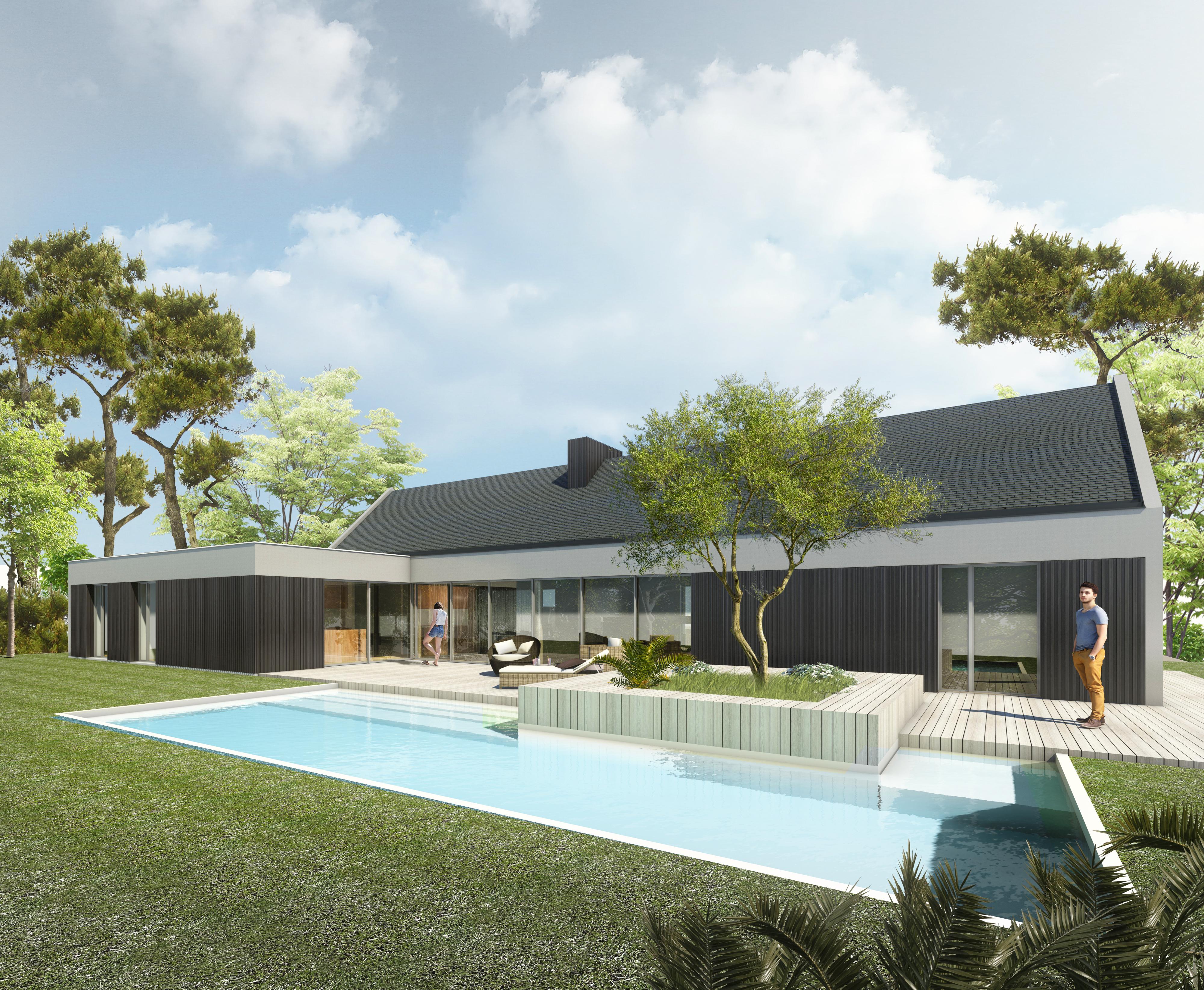 Jérôme JEGADO Architecte DPLG- Construction maison individuelle BBC PASSIVE