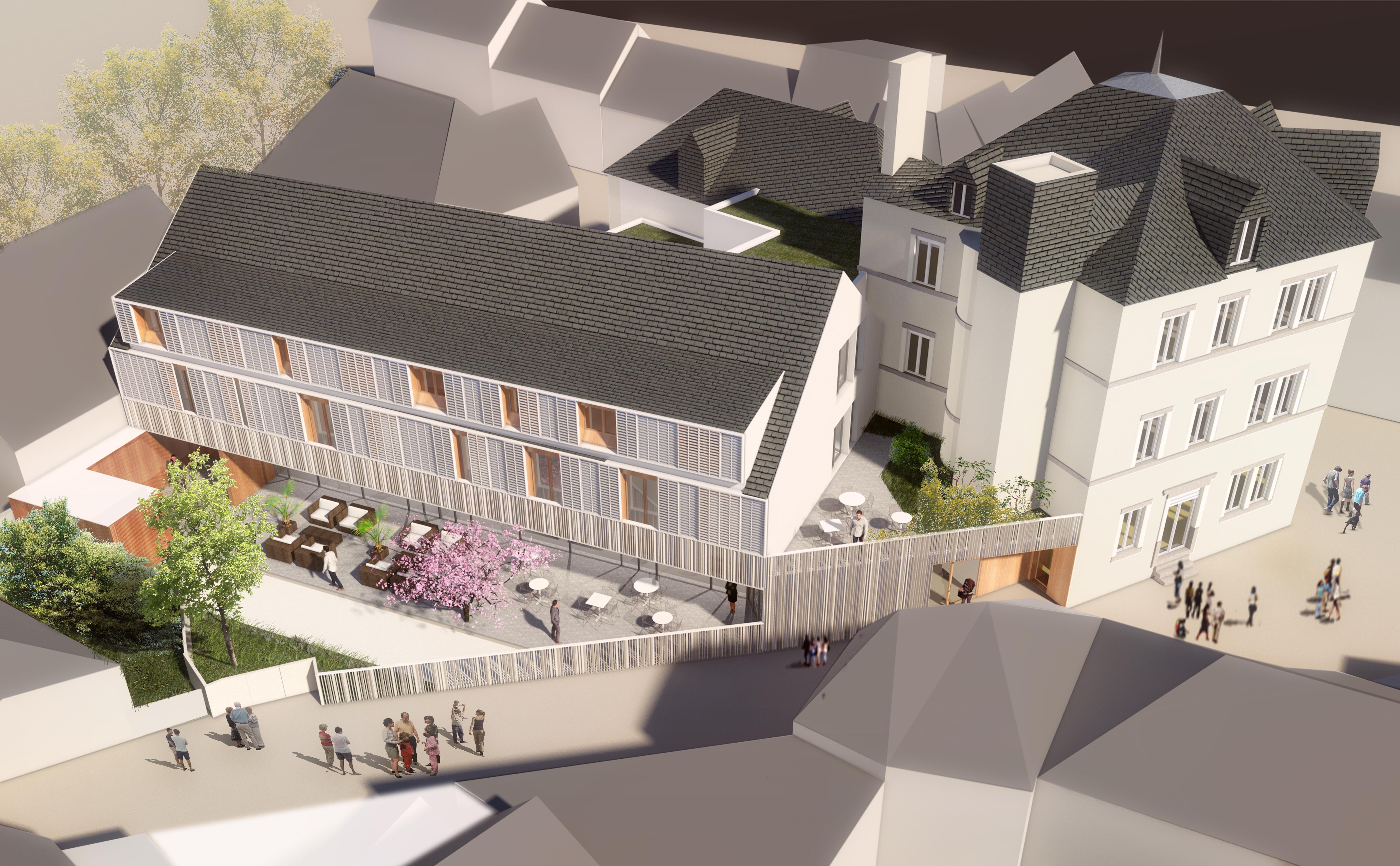 DAMGAN - Construction rénovation EHPAD - Jérôme JEGADO Architecte DPLG