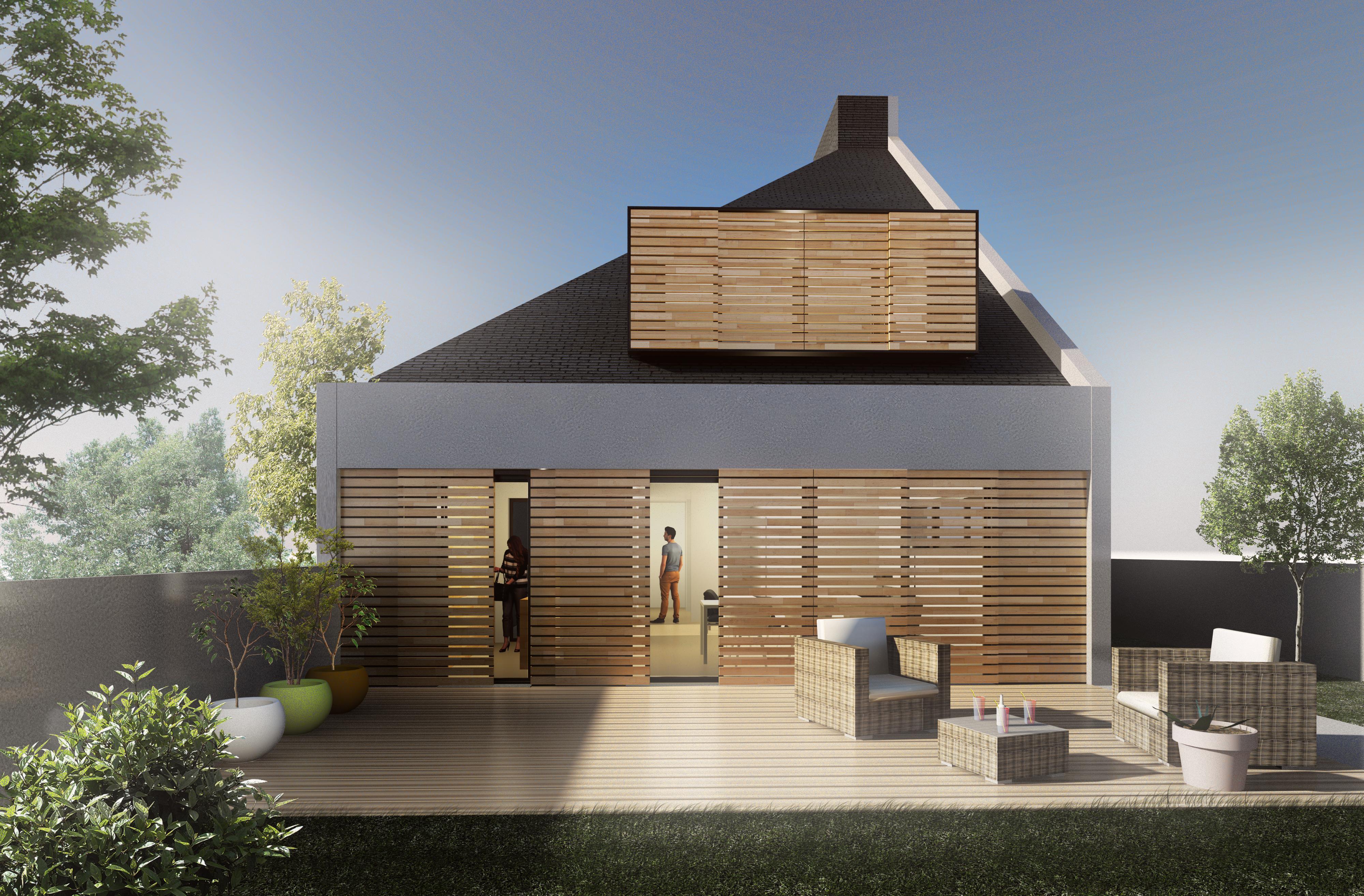 Construction maison individuelle- Jérôme JEGADO Architecte DPLG