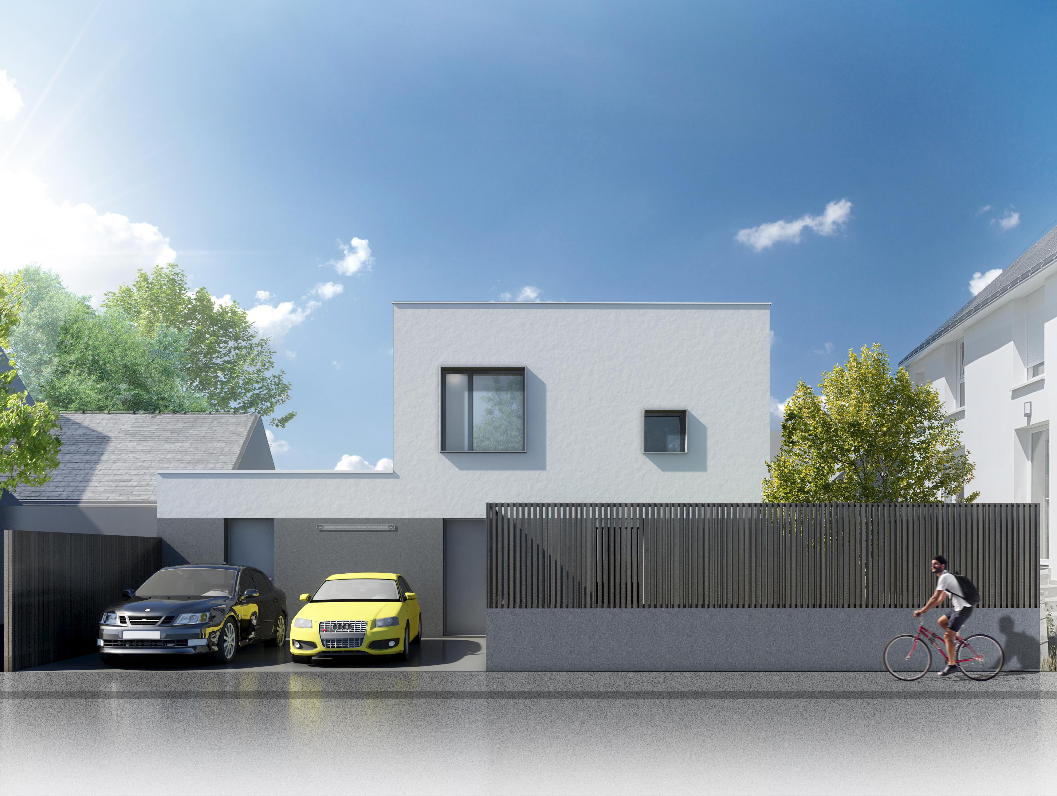 Jérôme JEGADO Architecte DPLG- Construction maison individuelle