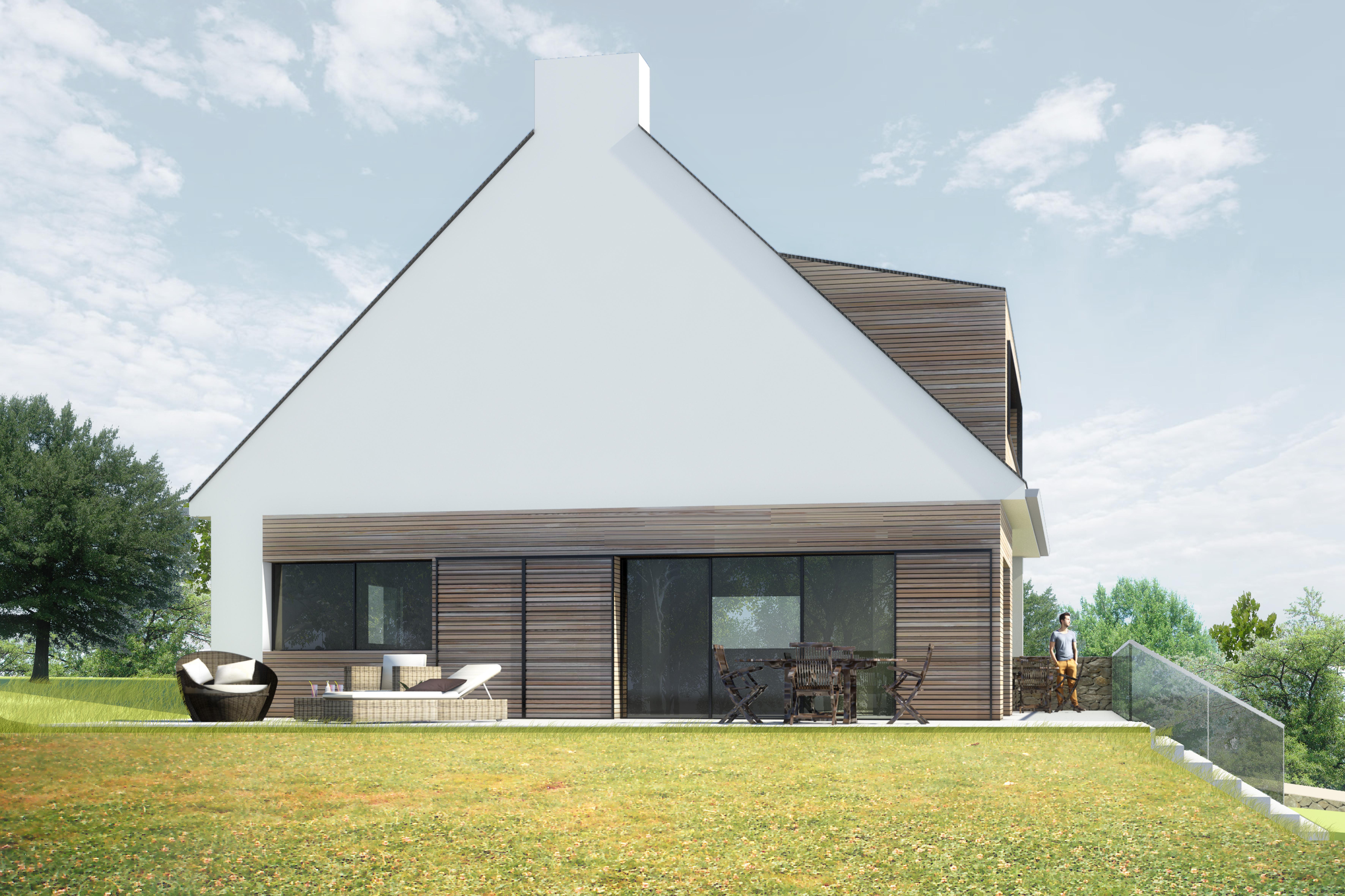 Jérôme JEGADO Architecte DPLG- Construction maison individuelle - restructuration rénovation