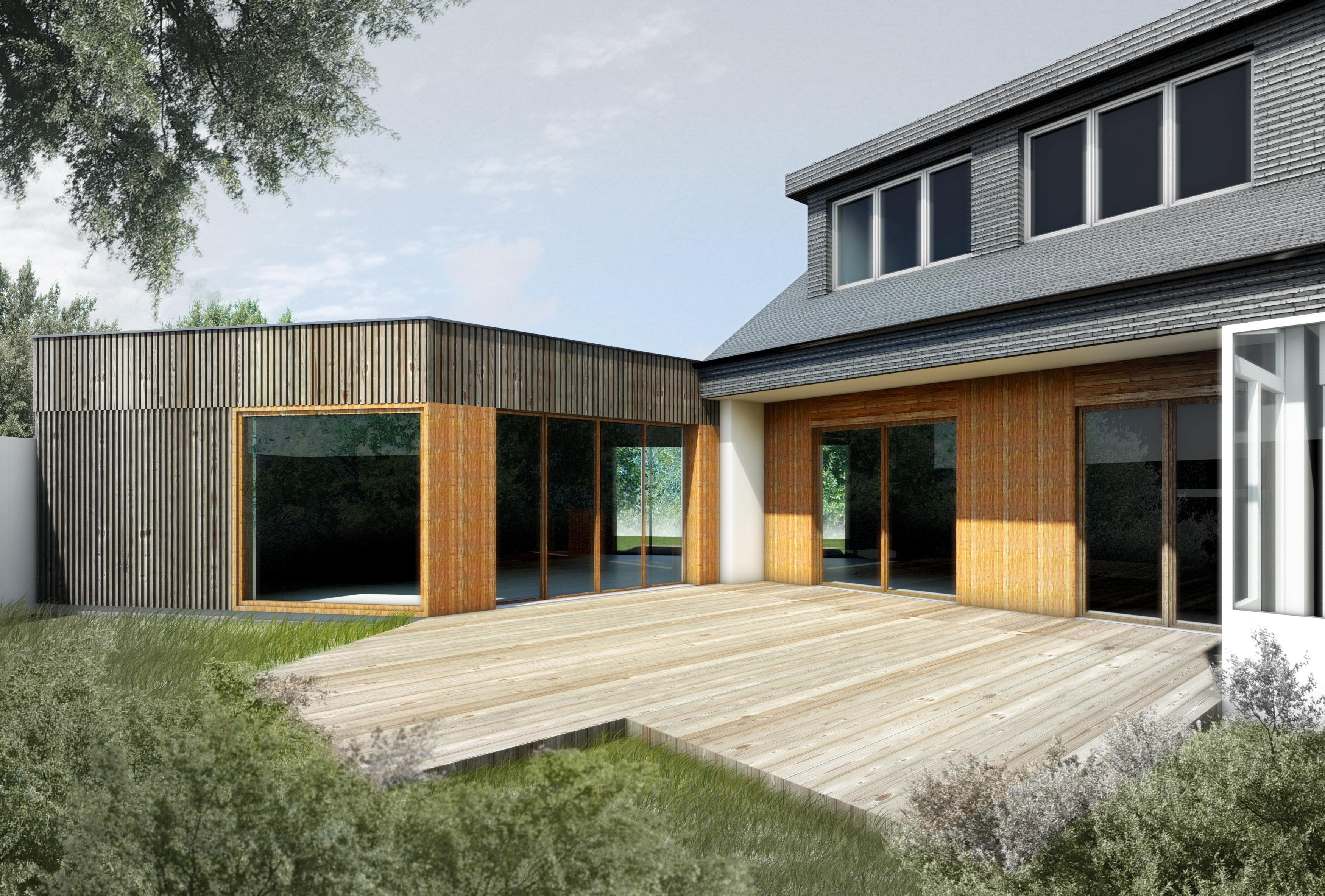 Jérôme JEGADO Architecte - Construction maison individuelle - extension - RENNES