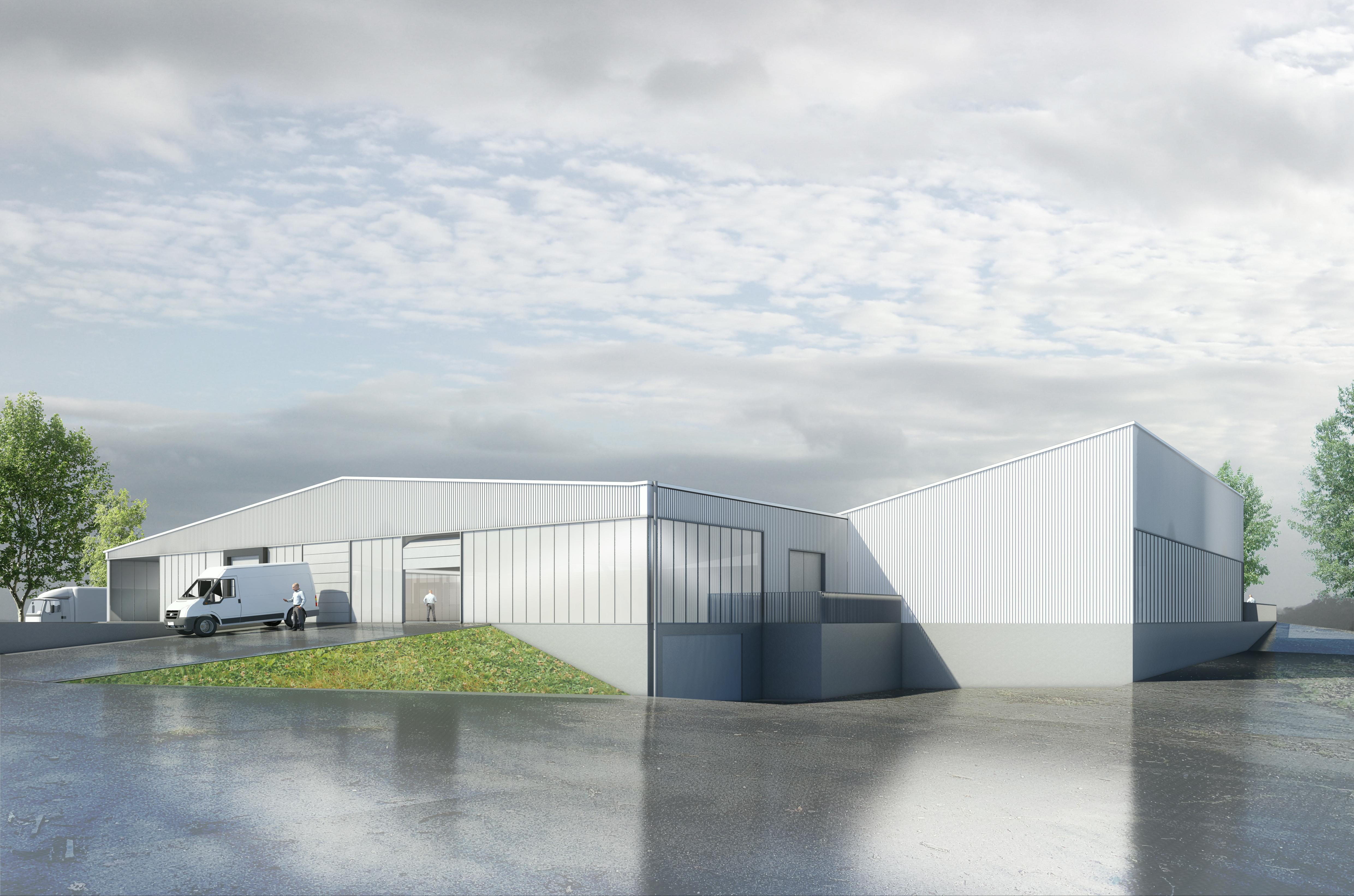 Bâtiment Industriel . Jérôme JEGADO Architecte