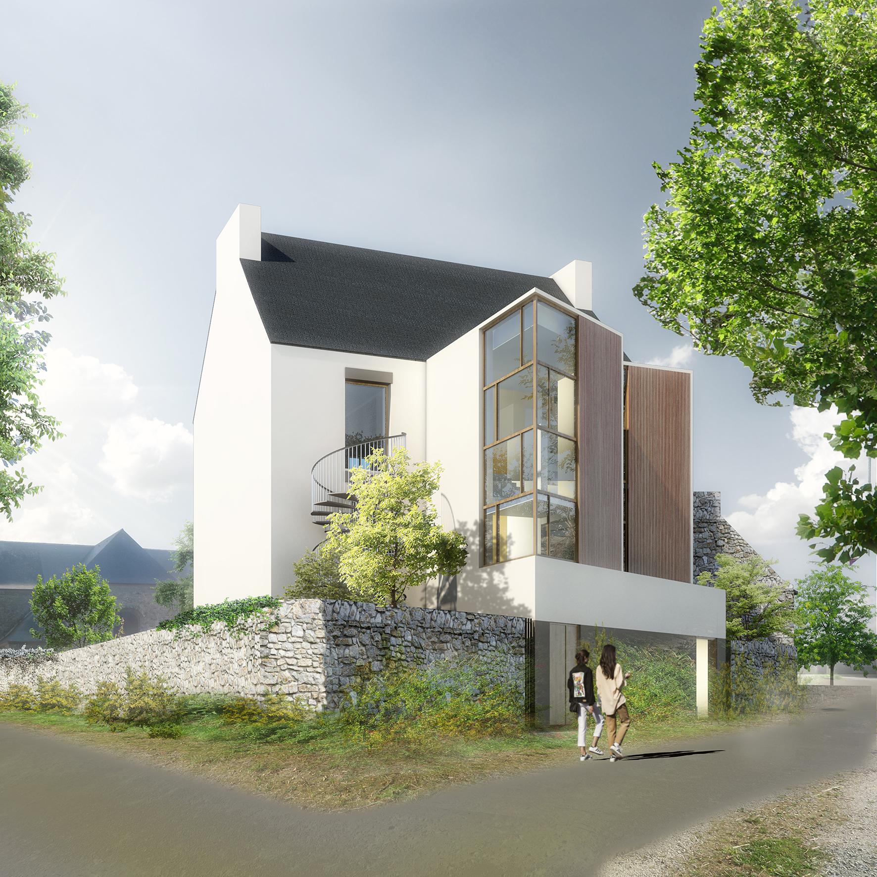 Construction restructuration rénovation Ecole de musique - Jérôme JEGADO Architecte